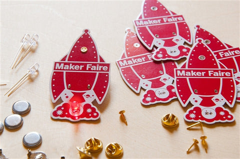 Rocket - Learn To Solder Skill Badge