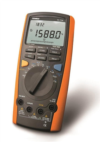 True RMS USB Multimeter DMM - 19,999 Count 4-1/2 Digit
