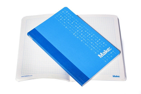 Maker's Notebook (Soft-Bound, 128 pages)