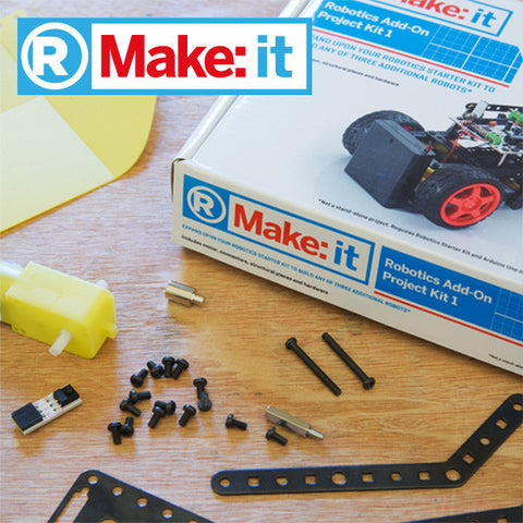 Make:it Robotics Add-on Project Kit 1