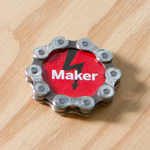 Maker Bike Chain Magnet