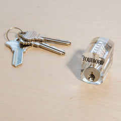 Visible Cutaway Practice Lock w/ Spool Pins ST-35