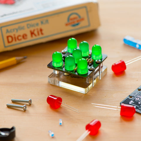 Led Dice (Die) Kit - Beginner Soldering