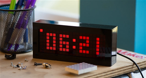 Solder: Time Desk Clock Kit