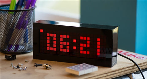 Solder: Time Desk Clock
