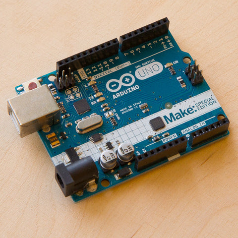 Arduino Uno Rev 3 (by Make:)