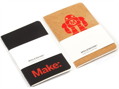 Make: Pocket Moleskine Notebook