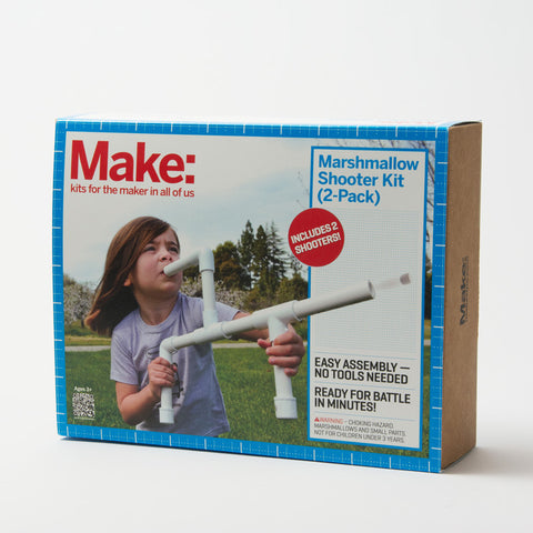 Make: Marshmallow Shooter (2-Pack)
