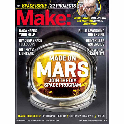 Make: Magazine Volume 47 (PDF)
