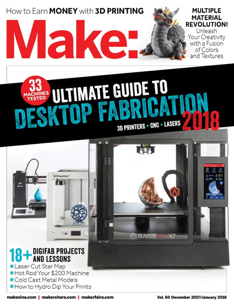 Make: Magazine, Volume 60 - PDF