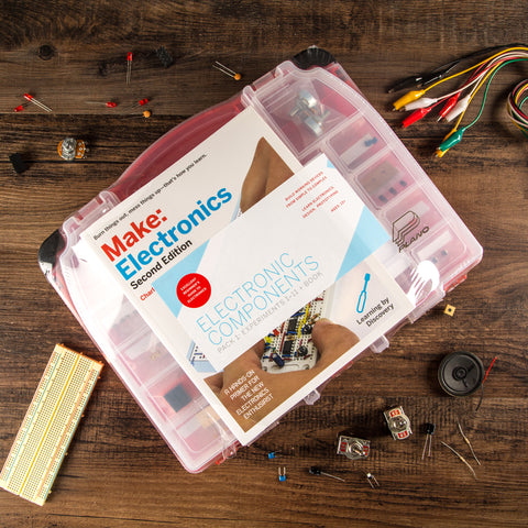 Make: Electronics Components Pack 1