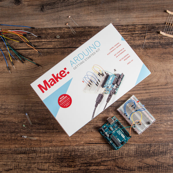 Make: Getting Started with Arduino Kit