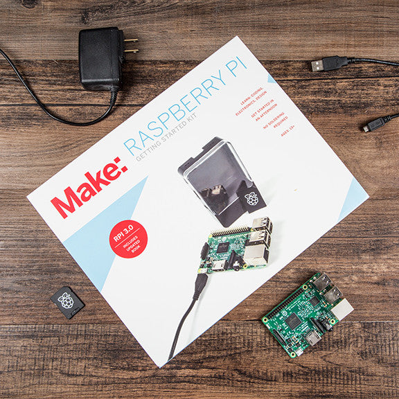 Make: Getting Started with Raspberry Pi 3.0