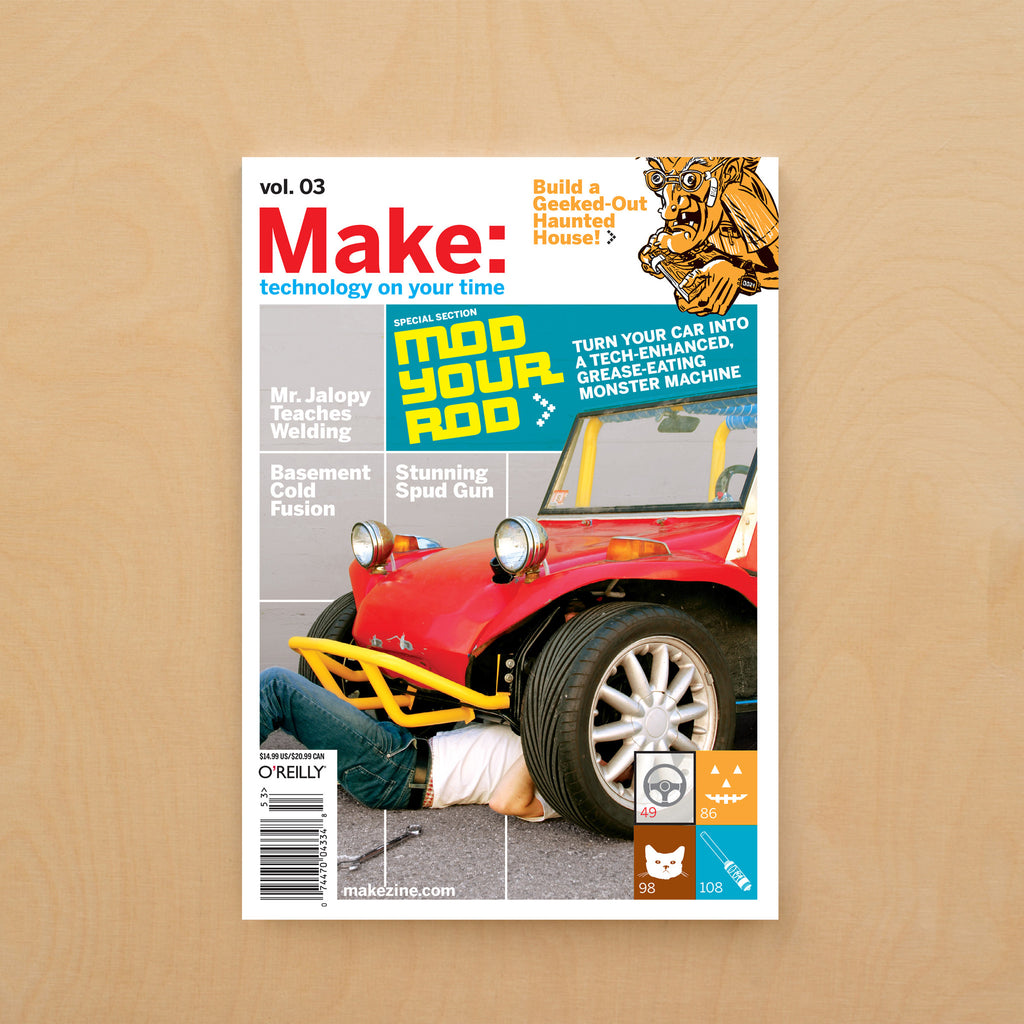 Make: magazine, Volume 03 (PDF)