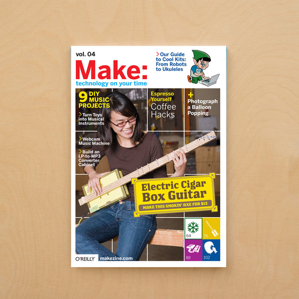 Make: magazine, Volume 04 (PDF)