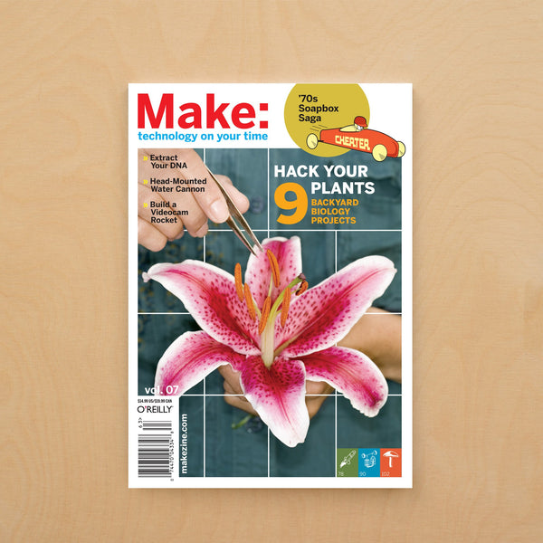 Make: Magazine, Volume 07 - Print