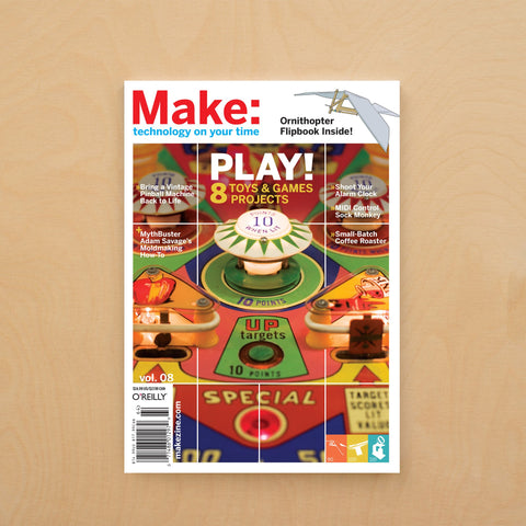 Make: Magazine, Volume 08 - Print