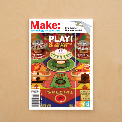 Make: magazine, Volume 08 (PDF)