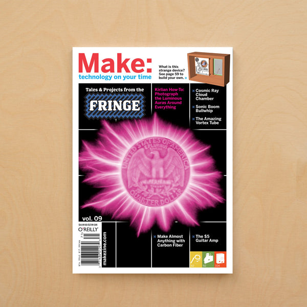 Make: Magazine, Volume 09 - Print