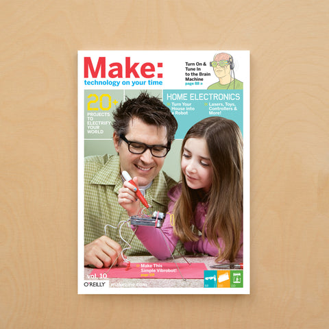 Make: magazine, Volume 10 (PDF)