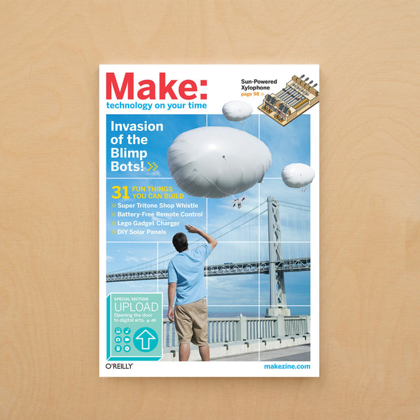 Make: Magazine, Volume 12 - Print