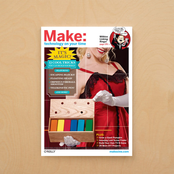 Make: Magazine, Volume 13 - Print