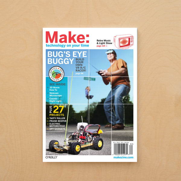 Make: magazine, Volume 14 (PDF)