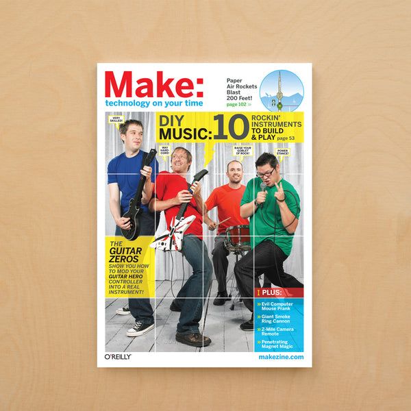 Make: magazine, Volume 15 (PDF)