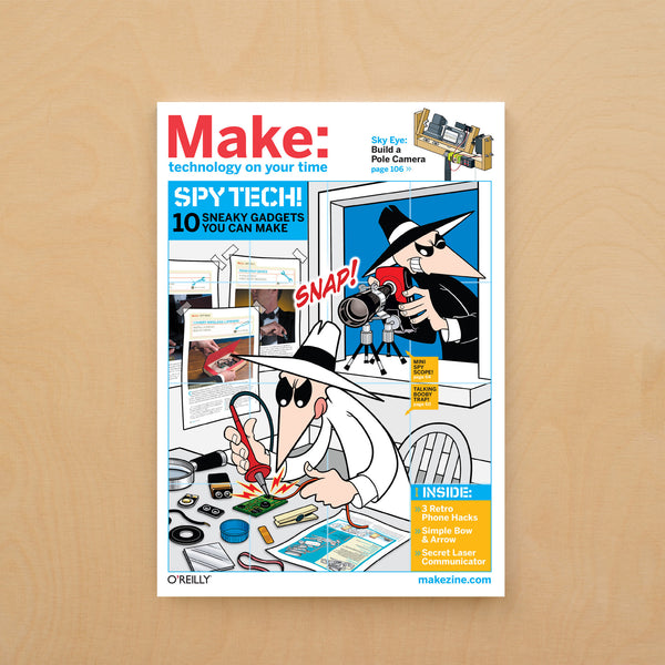 Make: Magazine, Volume 16 - PDF