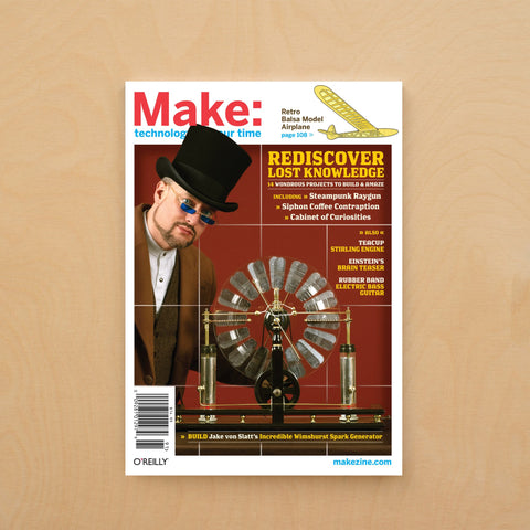 Make: Magazine, Volume 17 - Print