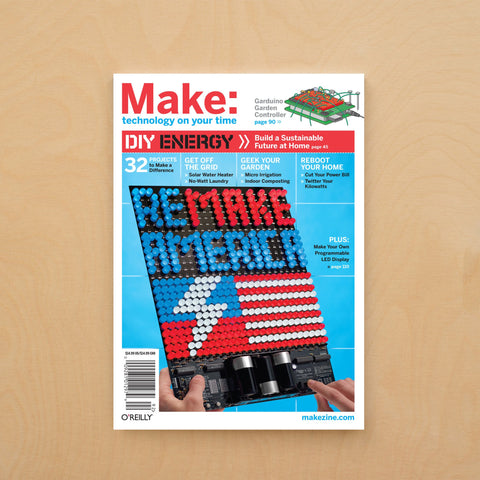 Make: Magazine, Volume 18 - Print