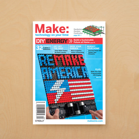Make: Magazine, Volume 18 - PDF