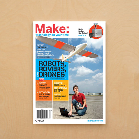 Make: Magazine, Volume 19 - Print