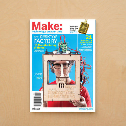 Make: Magazine, Volume 21 - Print