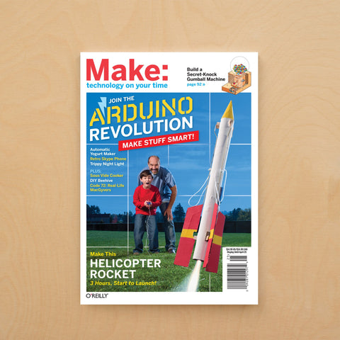 Make: Magazine, Volume 25 - Print