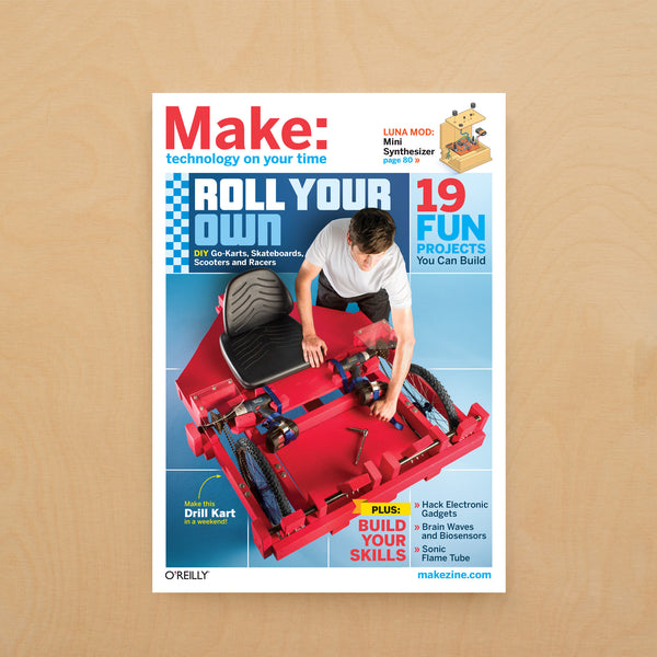 Make: magazine, Volume 26 - PDF