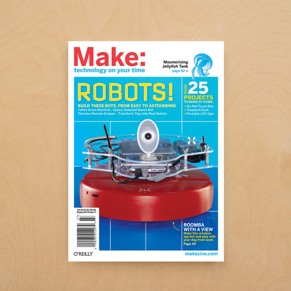 Make: magazine, Volume 27 (PDF)