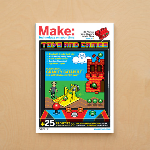 Make: magazine, Volume 28 (PDF)