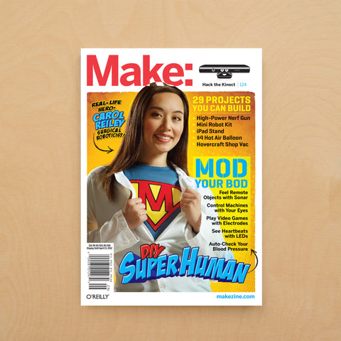 Make: magazine, Volume 29