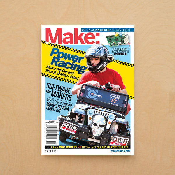Make: Magazine, Volume 33 - PDF