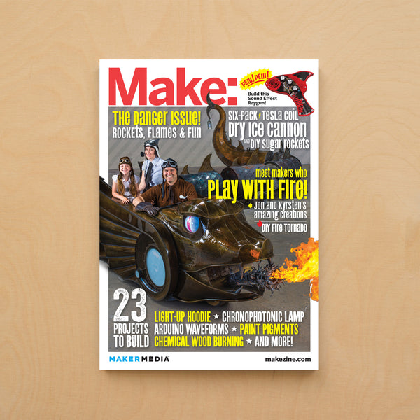 Make: Magazine, Volume 35 - PDF