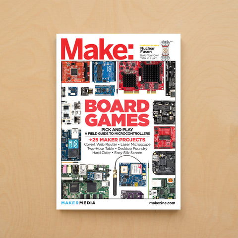 Make: magazine, Volume 36