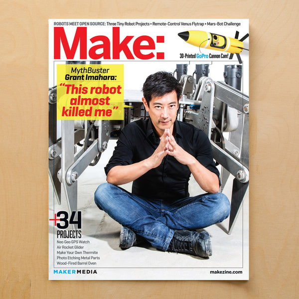 Make: Magazine Volume 39