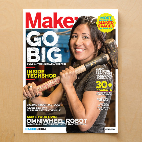Make: magazine, Volume 40