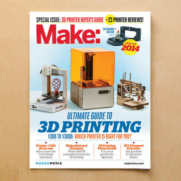 Make: Ultimate Guide to 3D Printing, 2014 - PDF