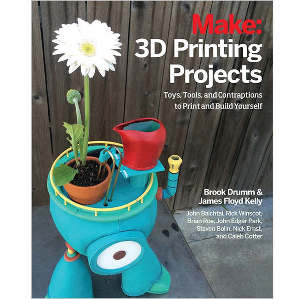 Make: 3D Printing Projects - PDF