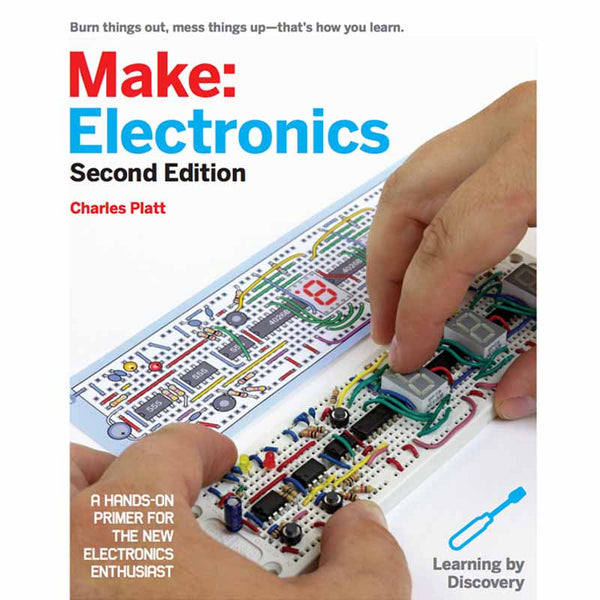 Make: Electronics, 2nd Edition - Print