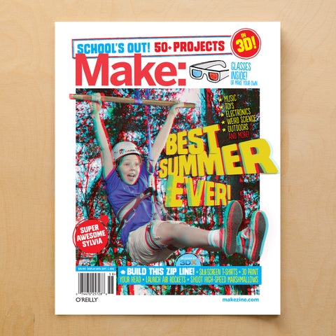 Make: Schools Out Summer Fun Guide - PDF