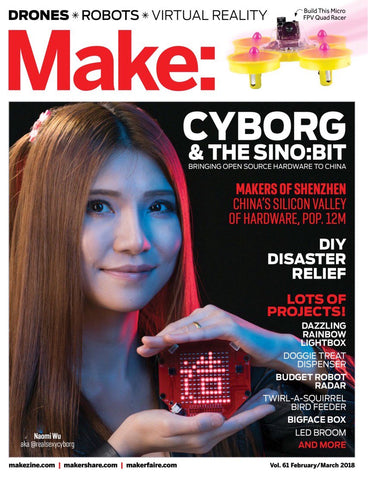 Make: Magazine, Volume 61 - PDF