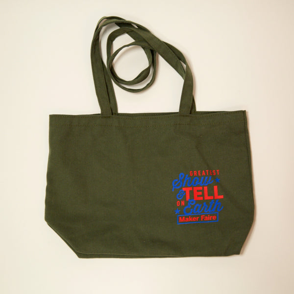 Maker Faire 2016 Tote Bag
